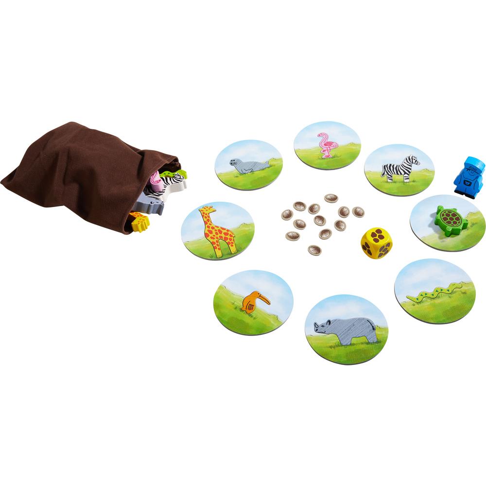 Mi primer juego para aprender. El zoo.