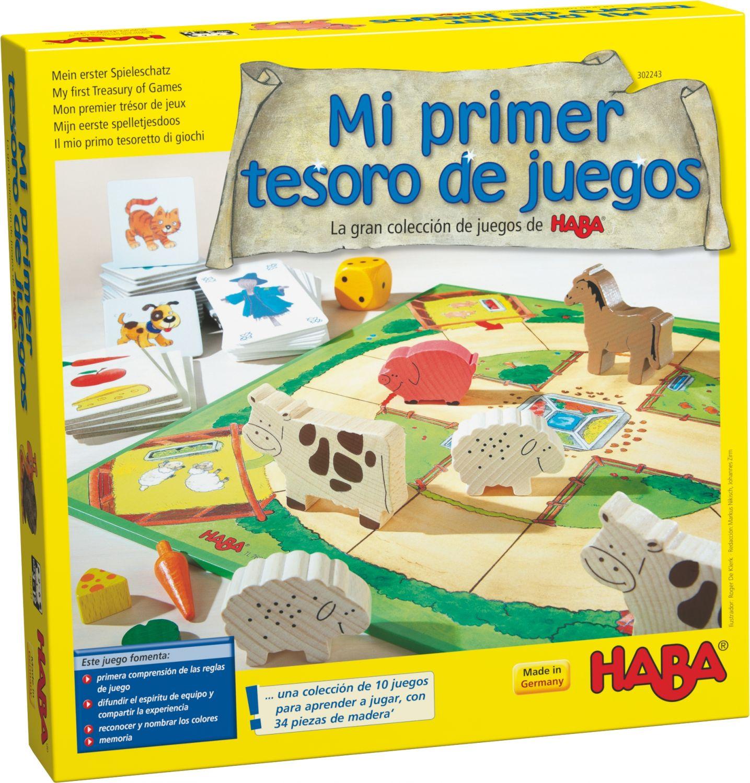 Mi primer tesoro de juegos. La gran colección de juegos de HABA.