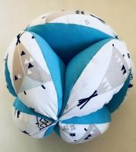 Pelota Montessori Tipi Azul